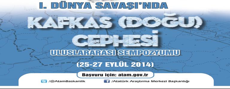 I. DÜNYA SAVAŞI'NDA KAFKAS (DOĞU) CEPHESİ afiş