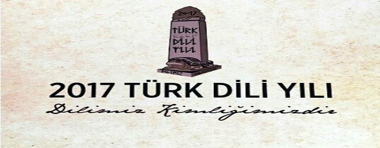 TÜRK DİLİ YILI.